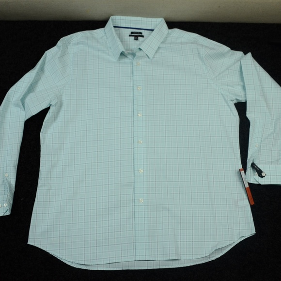 Xxl Mens Button Dress Shirt Nwt